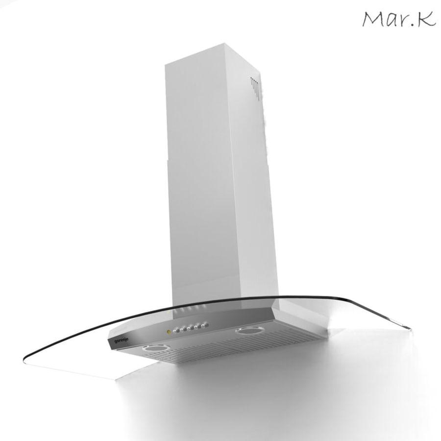 Kitchen hood Gorenje DKG9335 royalty-free 3d model - Preview no. 1