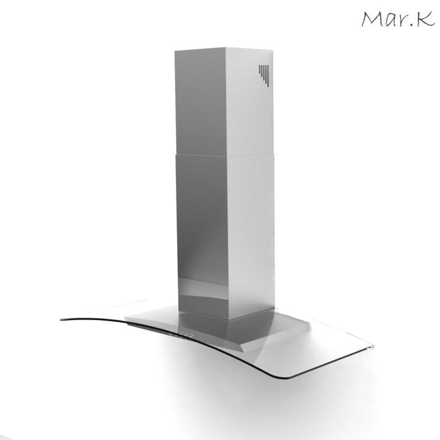 Kitchen hood Gorenje DKG9335 royalty-free 3d model - Preview no. 2