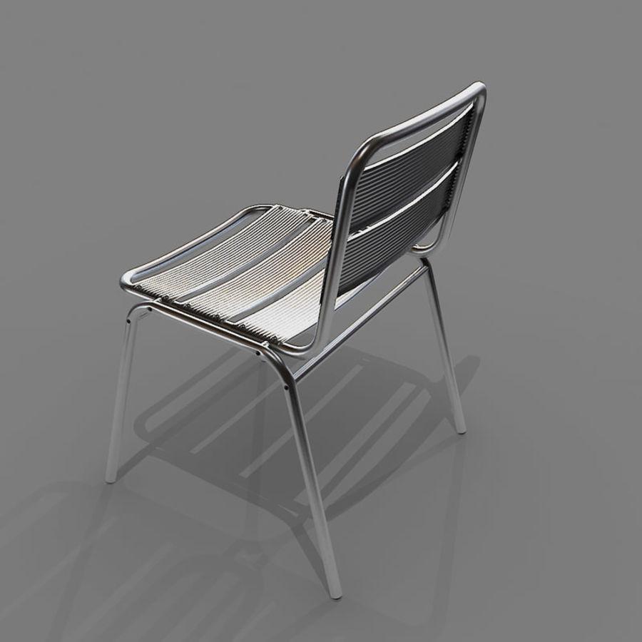 알루미늄 의자 royalty-free 3d model - Preview no. 4