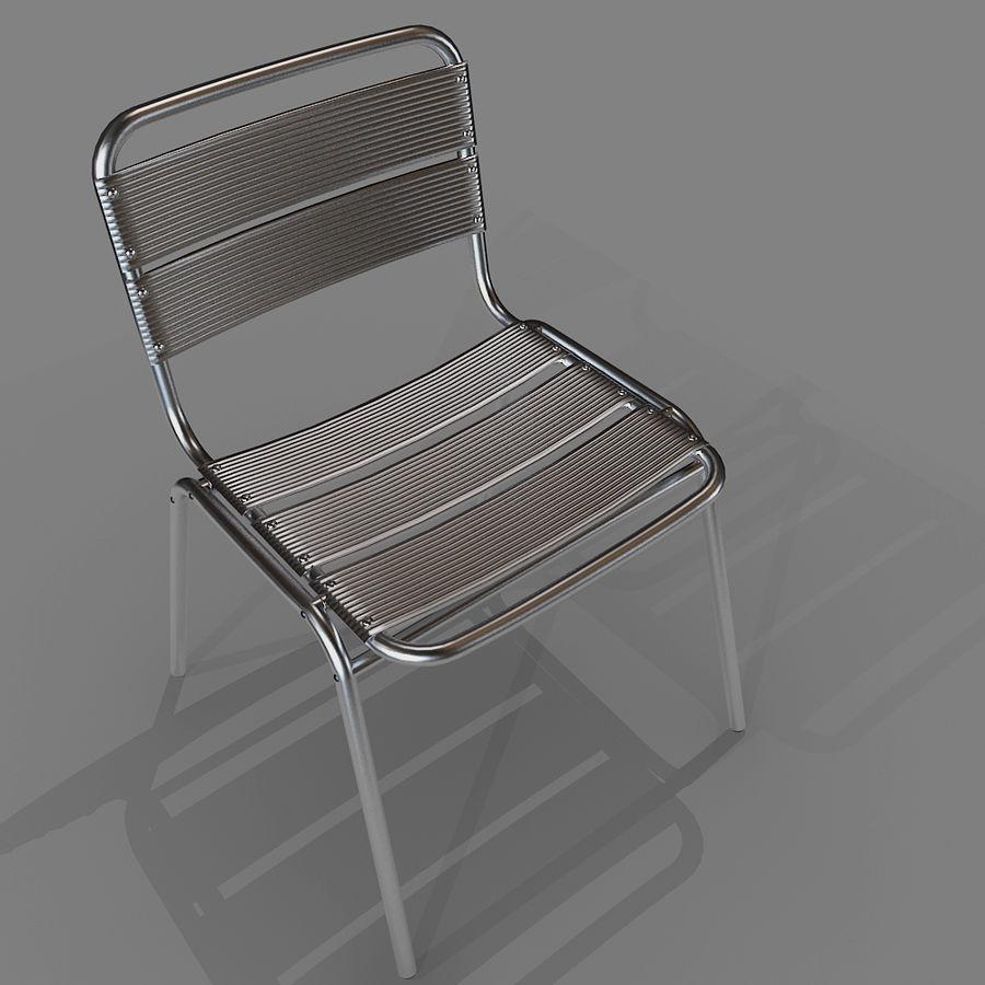 알루미늄 의자 royalty-free 3d model - Preview no. 3