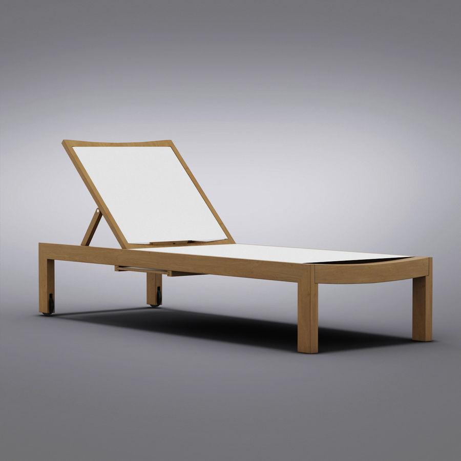 Crate And Barrel Regatta Mesh Chaise Lounge 3d Model 24