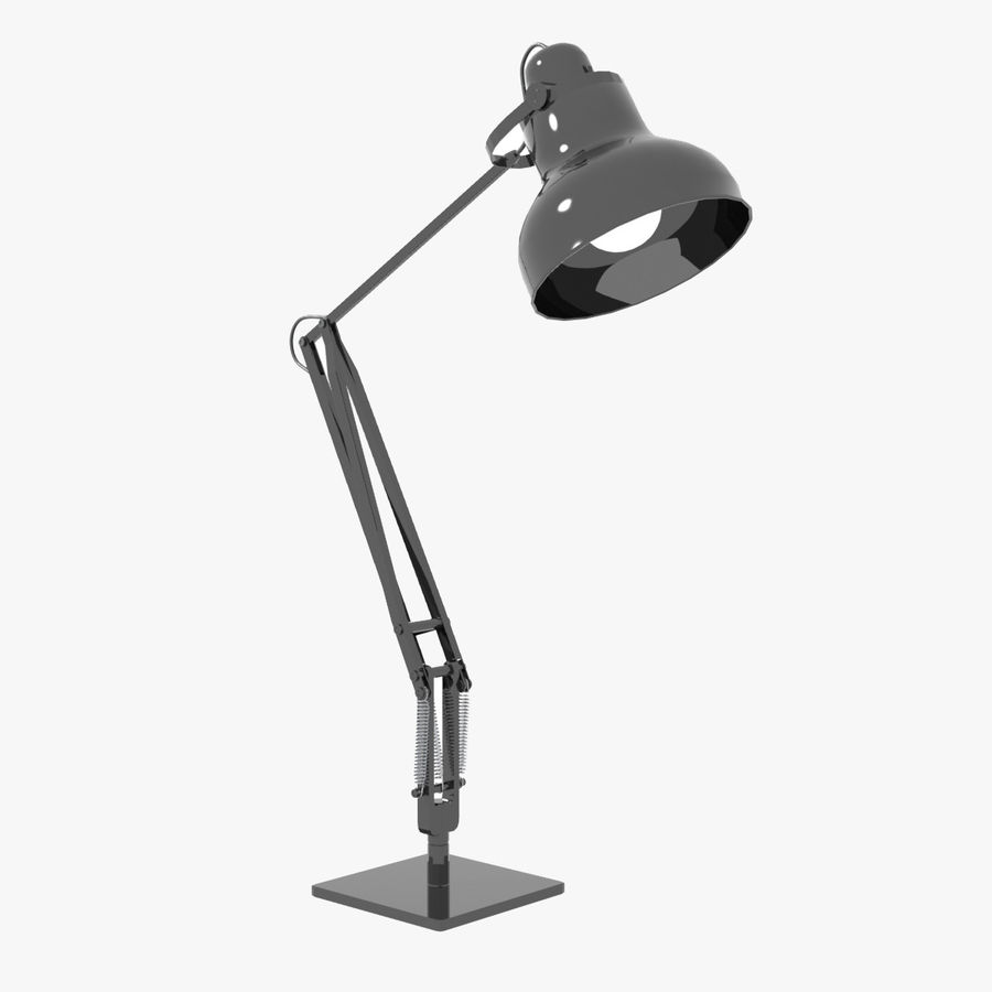 Skrivbordslampa royalty-free 3d model - Preview no. 1