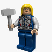 Thor Lego 3d model