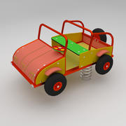 Springtoy Car 3d model