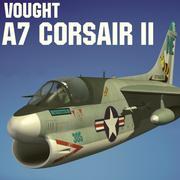 VOUGHT A7 CORSAIR II 3d model