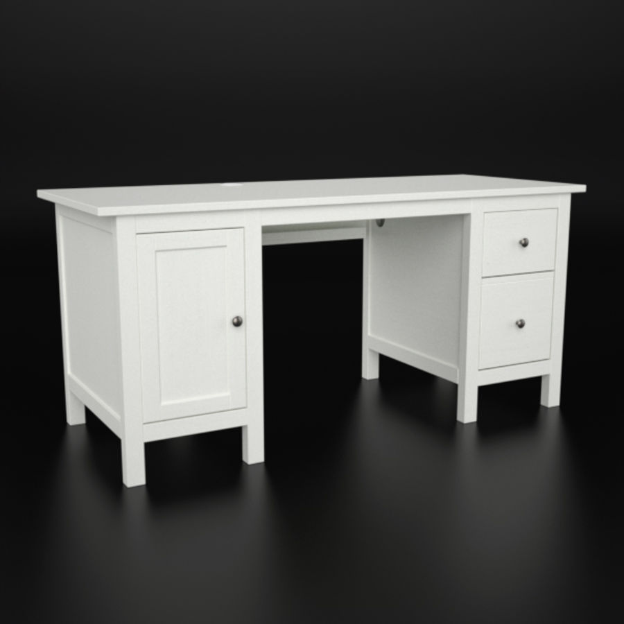 Desk IKEA royalty-free 3d model - Preview no. 1
