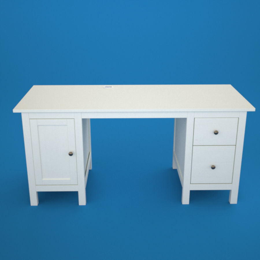 Desk IKEA royalty-free 3d model - Preview no. 7