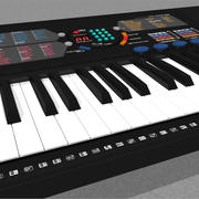 Keyboard: Yamaha PSR180: C4D Model 3d model