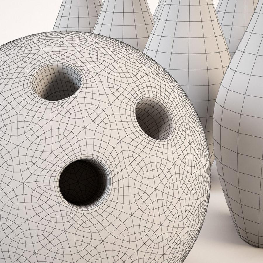 Bowling Ball&Pins royalty-free 3d model - Preview no. 10