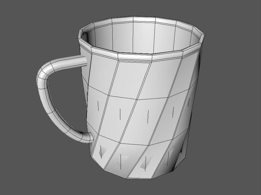 Cup royalty-free 3d model - Preview no. 4
