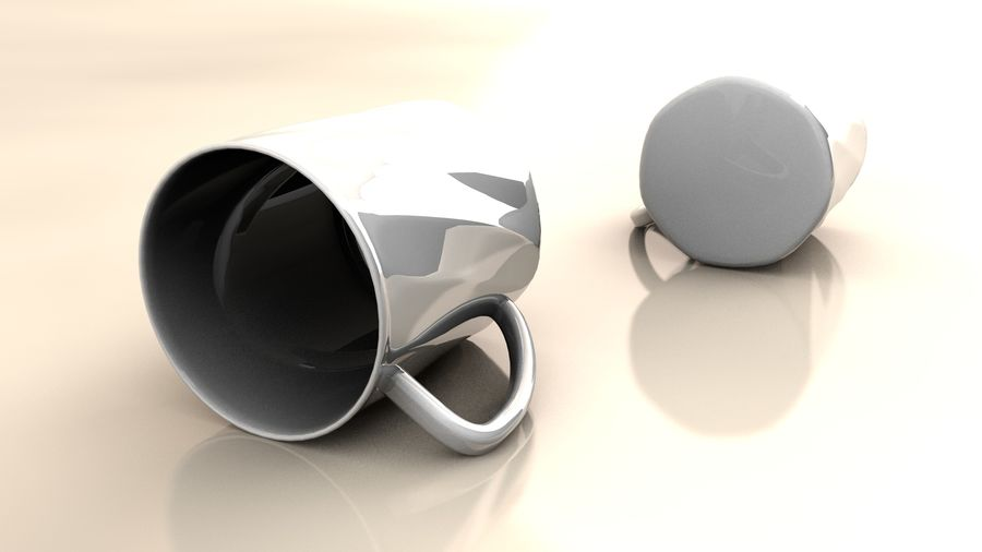Cup royalty-free 3d model - Preview no. 2