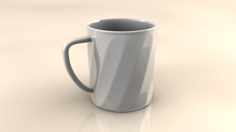 Cup royalty-free 3d model - Preview no. 1