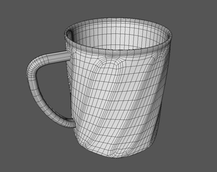 Cup royalty-free 3d model - Preview no. 5