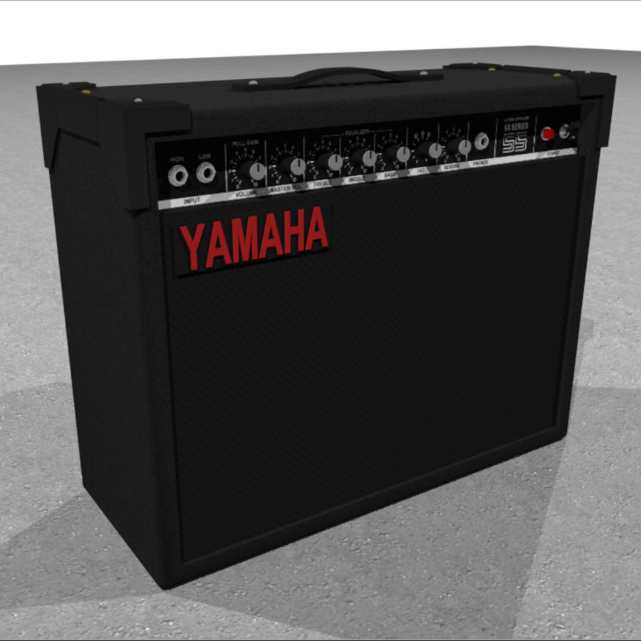 guitar amplifier yamaha vx55 c4d format 3d model 5 c4d free3d. Black Bedroom Furniture Sets. Home Design Ideas