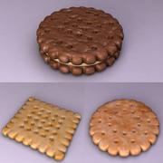 Biscuits 3d model