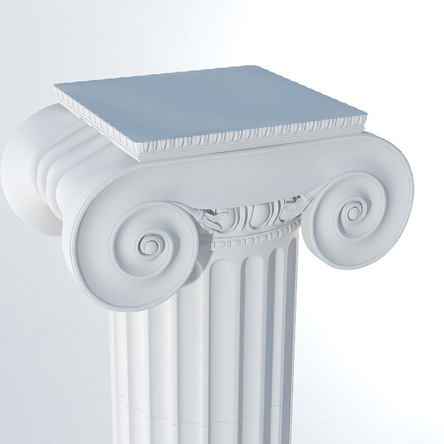 Ionic Column royalty-free 3d model - Preview no. 3