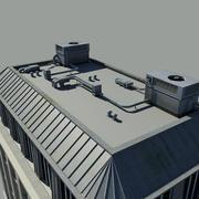 지붕 장치 3d model
