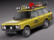 Range Rover Camel Trophy 1981-1993 3d model
