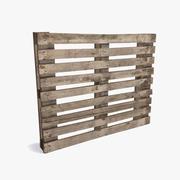 Wooden Pallet 3d model