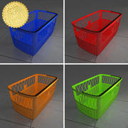 Shopping basket 3d model