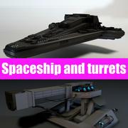 Star ship 2.0 3d model