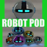 Robot pod V2 3d model
