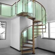 Spiralne schody 3d model