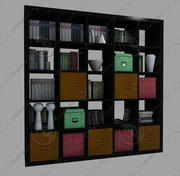 IKEA furnitures 1 3d model