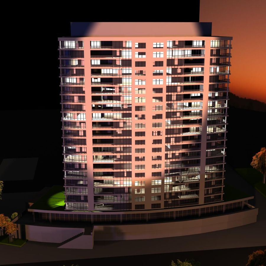 High rise building 3d model 19 x free3d high rise building royalty free 3d model preview no 5 publicscrutiny Images