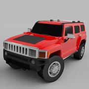 HummerH3 3d model