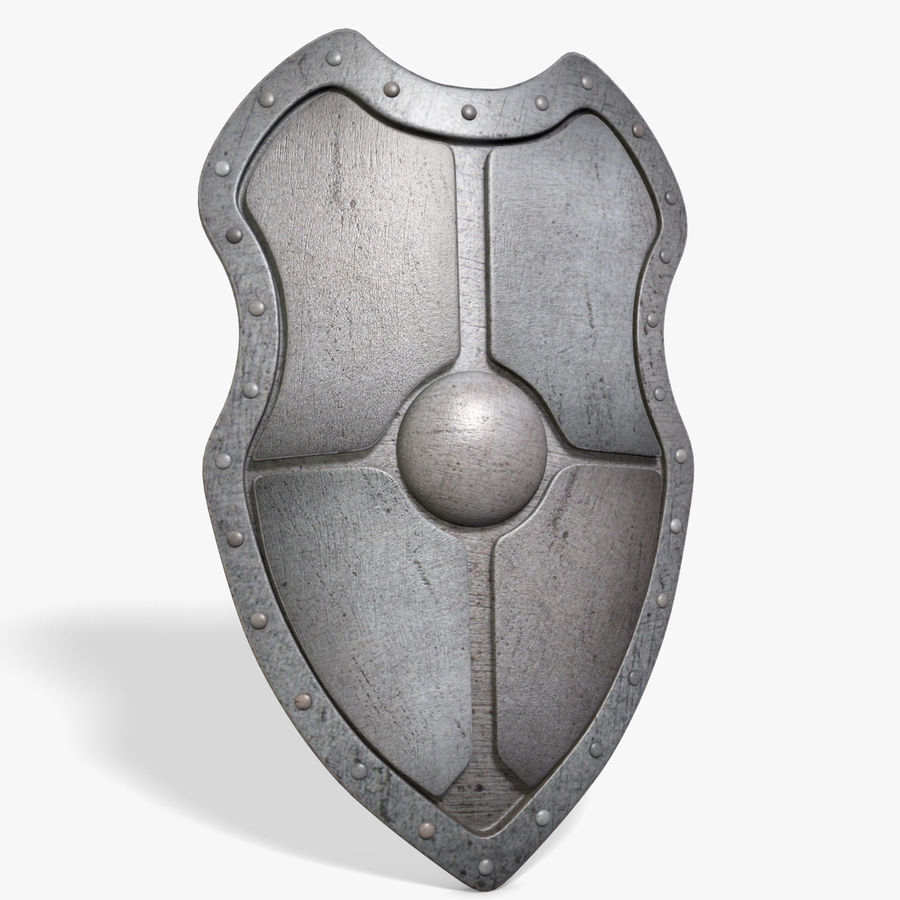 Shield royalty-free 3d model - Preview no. 2