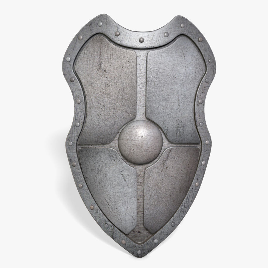 Shield royalty-free 3d model - Preview no. 1