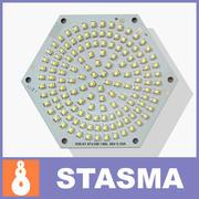 LED面板 3d model