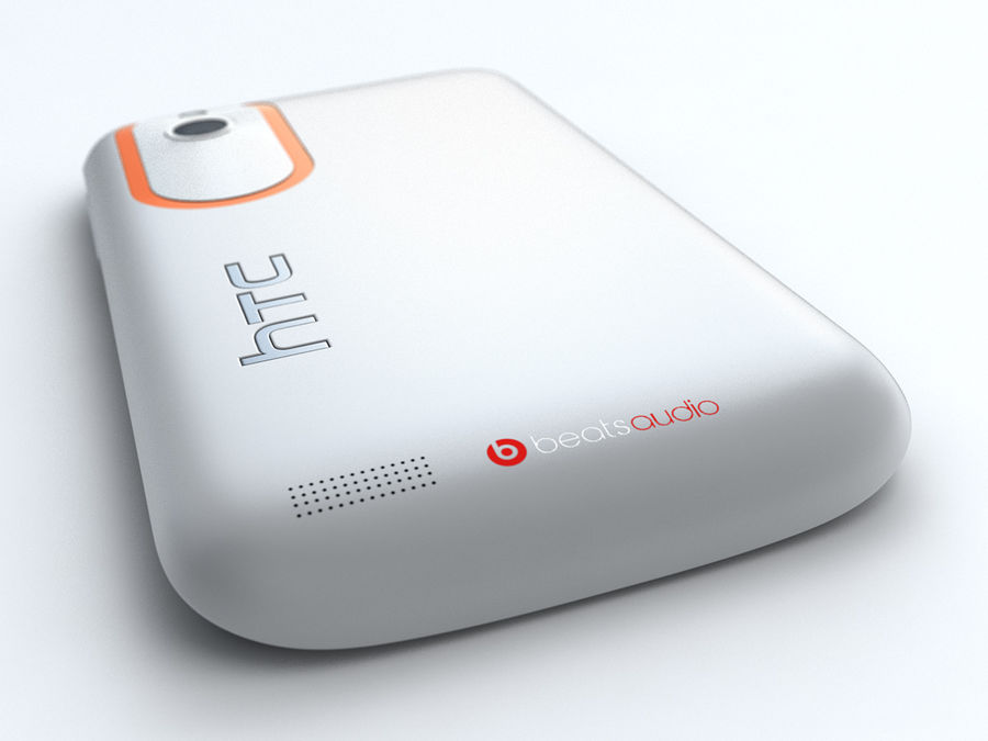 HTC Desire V royalty-free 3d model - Preview no. 11