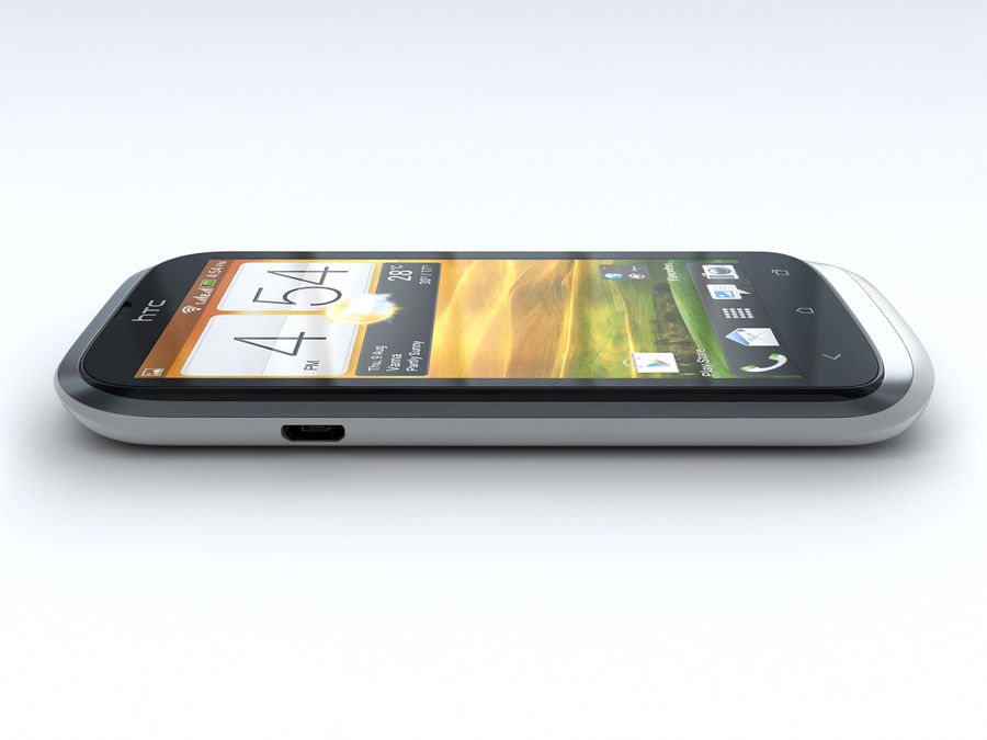 HTC Desire V royalty-free 3d model - Preview no. 13