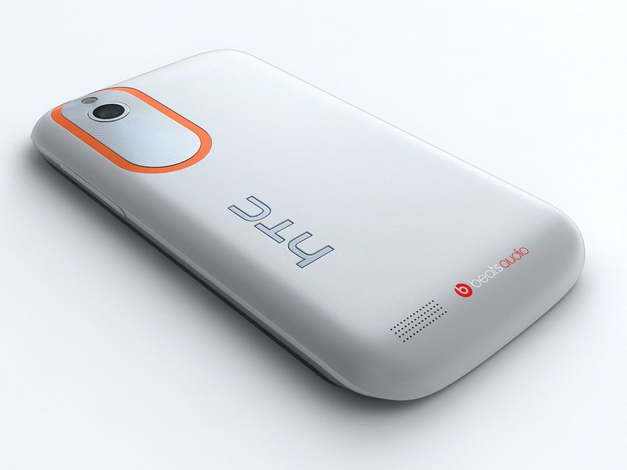 HTC Desire V royalty-free 3d model - Preview no. 5