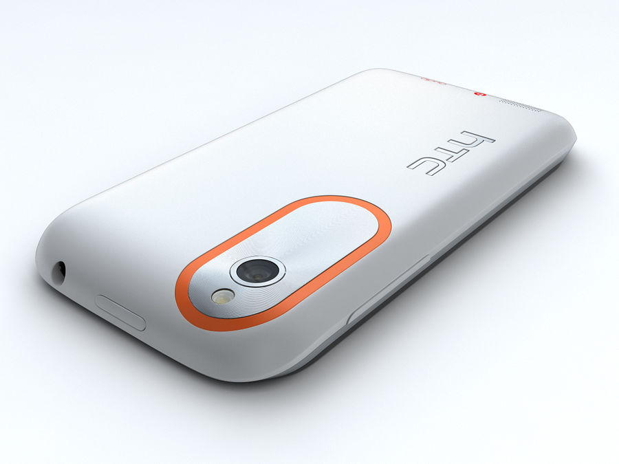 HTC Desire V royalty-free 3d model - Preview no. 7