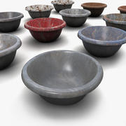 Bowl Textured 3d model
