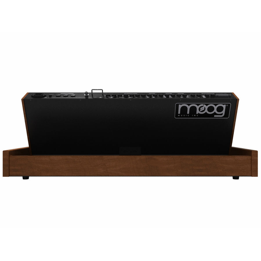Keyboard / Synthesizer: Moog Voyager: Wood Finish royalty-free 3d model - Preview no. 7