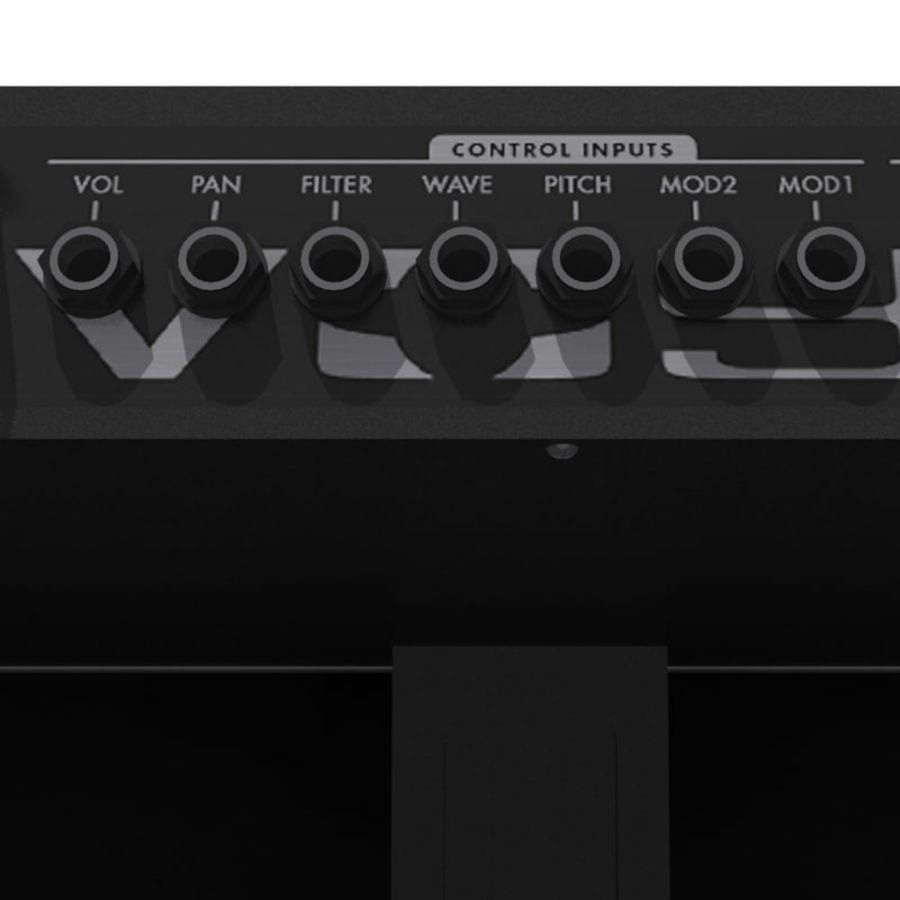 Keyboard / Synthesizer: Moog Voyager: Wood Finish royalty-free 3d model - Preview no. 11