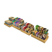 Snack Bars - Candy 3d model