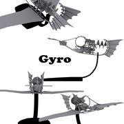 Gyro 3d model