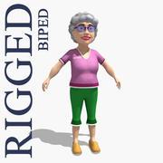 할머니 3d model