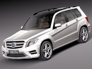 Mercedes-Benz GLK 2013 3d model