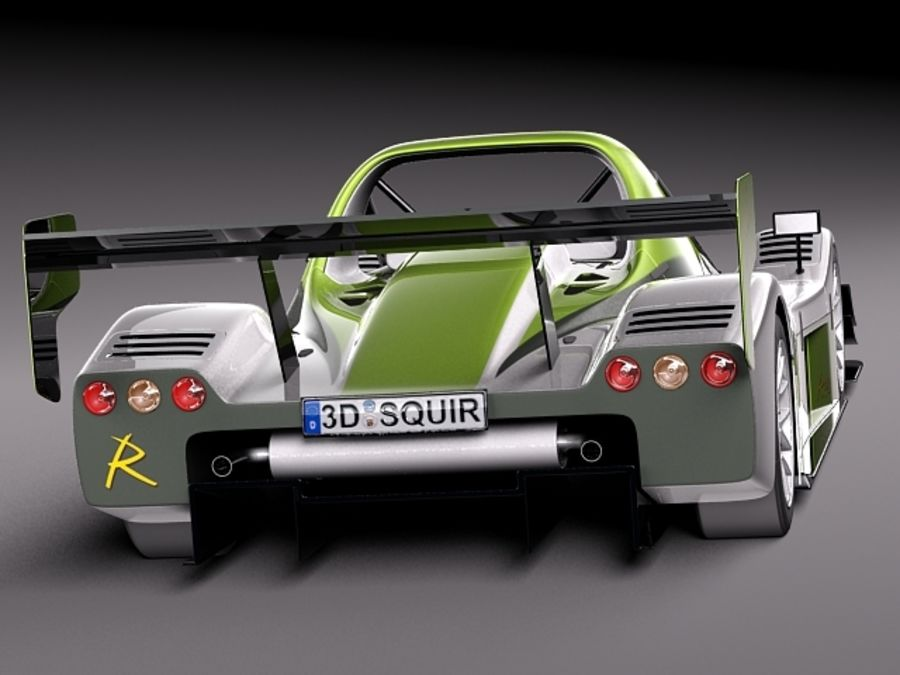 Radical SR8 2012 race car 3D Model $99 -  c4d  obj  max  lwo  fbx