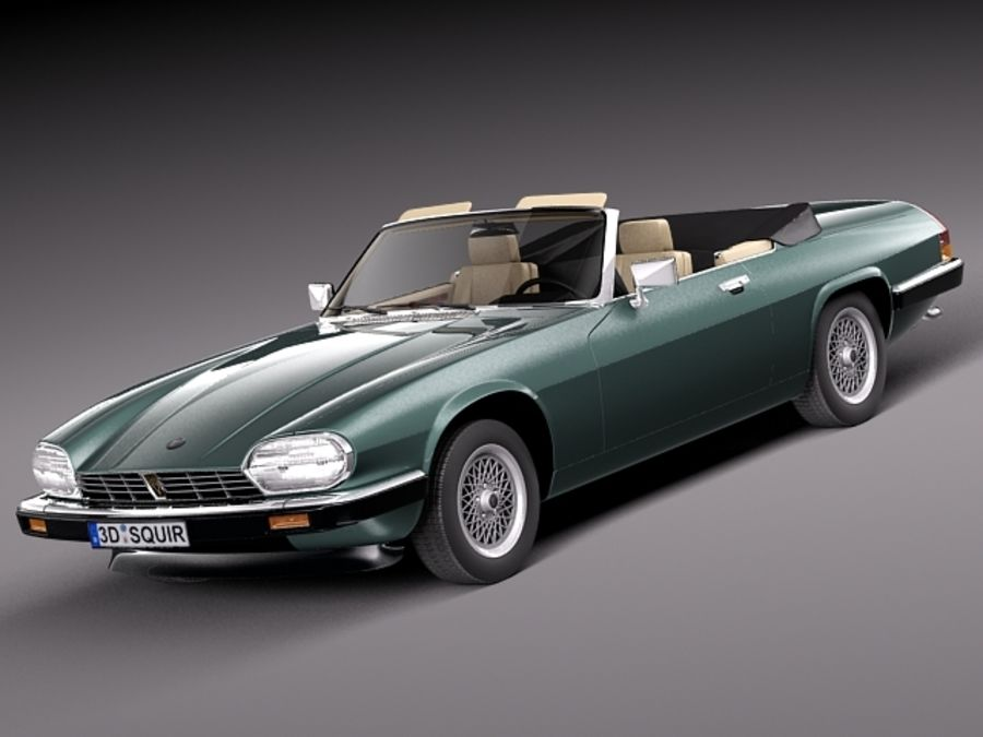 jaguar xjs convertible 1975 3d model 99 lwo max obj. Black Bedroom Furniture Sets. Home Design Ideas