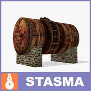 Cisterna modelo 3d
