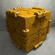 Metal Cargo Container 3d model