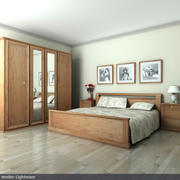 "Bedroom ""Romantika"" 3d model"