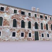유럽 건축물 015 3d model